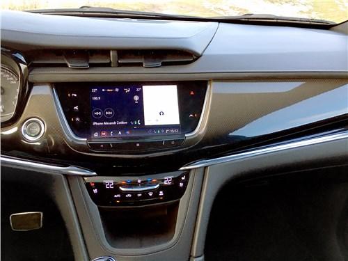 Cadillac XT6 2020 климатическая установка