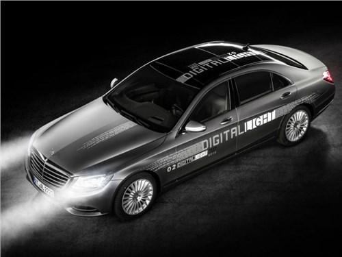 Новость про Mercedes-Benz - Mercedes-Benz представил «цифровые» фары