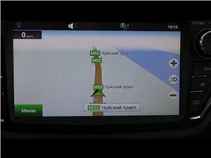 Lifan X50 2015 навигация