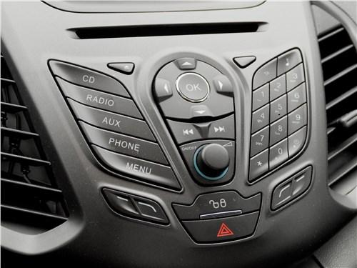 Ford EcoSport 2013 центральная консоль