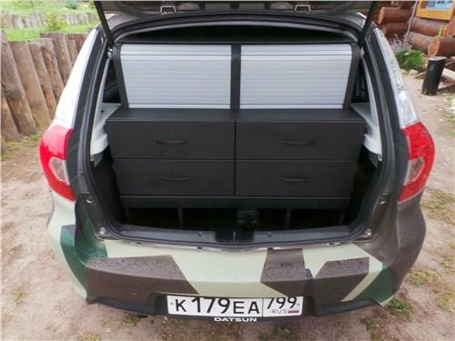 Datsun mi-Do 2018 багажное отделение