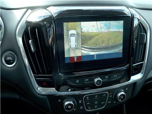 Предпросмотр chevrolet traverse 2018 сенсорный экран