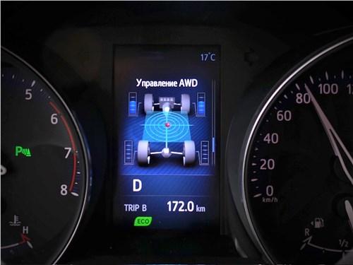 Toyota C-HR 2016 приборная панель