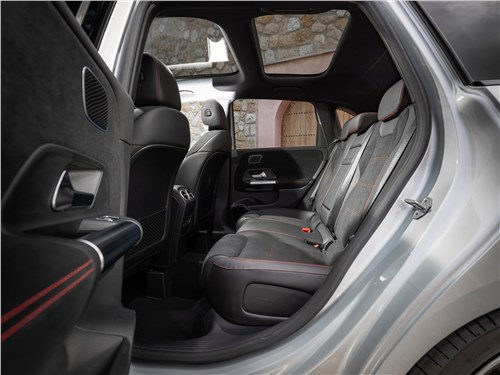 Предпросмотр mercedes-benz b-class 2019 задний диван