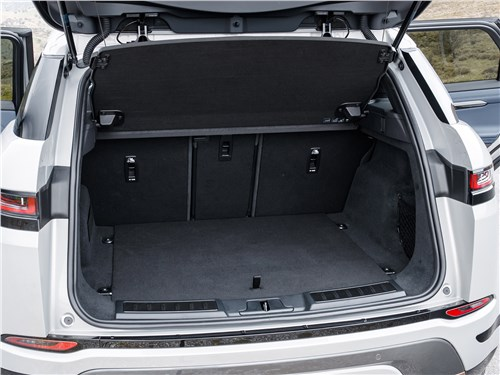 Land Rover Range Rover Evoque 2020 багажное отделение