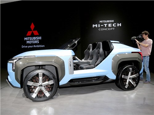Mitsubishi Mi-Tech Concept 2019 вид сбоку
