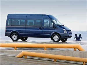 Предпросмотр ford tranzit 2006 микроавтобус длинная база средняя крыша фото 3