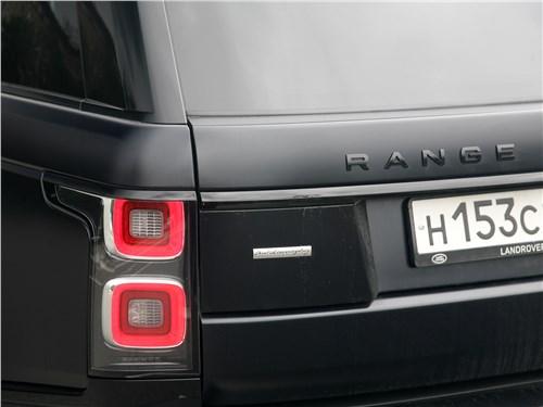 Land Rover Range Rover Autobiography 2018 задний фонарь