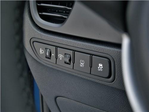 Kia Rio X (2020) кнопки