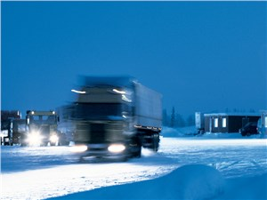 Предпросмотр грузовики на севере