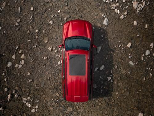 Chevrolet Tahoe (2021) вид сверху