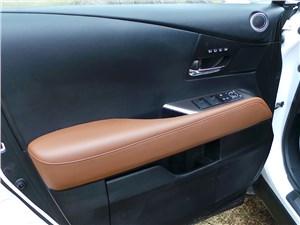 Lexus RX 450h F-Sport 2014 внтренняя отделка двери