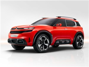 Citroen Aircross Concept 2015 Заводной апельсин