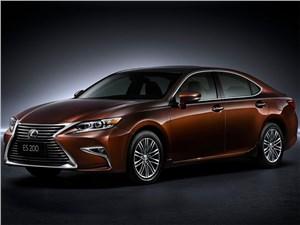 Новый Lexus ES - Lexus ES 2016 Выбор – шире