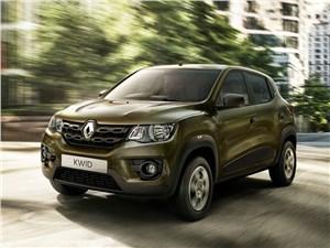 Renault Kwid 2016 вид спереди