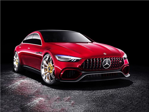 Новость про Mercedes-Benz - Mercedes-Benz AMG GT