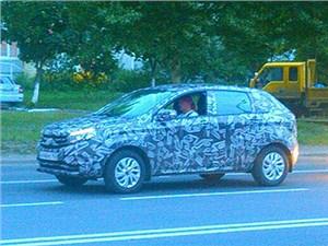 Новость про Lada - «АвтоВАЗ» проводит финальные испытания новой модели Lada XRay