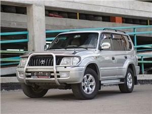 Toyota Land Cruiser Prado - toyota land cruiser prado 2001 теплый ламповый японец