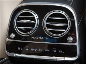 Предпросмотр mercedes-maybach s 500 2015 климат для пассажиров второго ряда