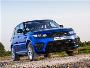 Land Rover Range Rover Sport - land rover range rover sport svr 2015 громовержец