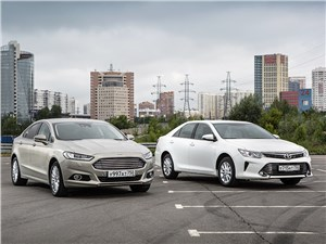 Ford Mondeo - ford mondeo 2015 и toyota camry 2014 классовое неравенство