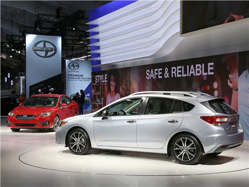 Автосалон в Нью-Йорке 2016 Subaru Impreza