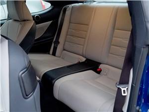 Lexus RC F Sport 2014 задний диван