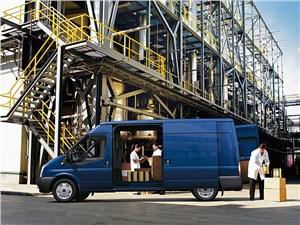 Предпросмотр ford tranzit 2006 фургон средняя база средняя крыша