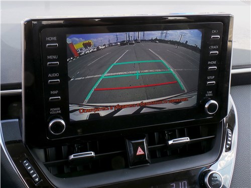Toyota Corolla 2019 монитор