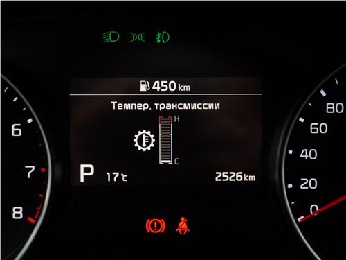 Kia XCeed 2020 приборная панель