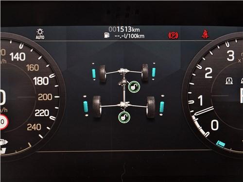 Land Rover Defender 90 (2020) приборная панель