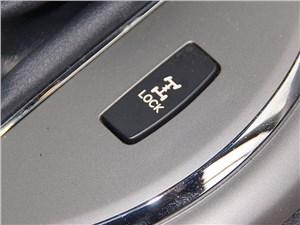 Kia Sportage 2014 кнопка принудительной блокировки межосевой муфты