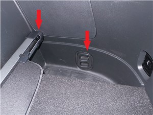 Mitsubishi Outlander 2014 багажное отделение