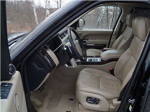 Range Rover LWB 2014 передние кресла