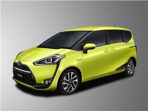 Toyota Sienta 2015 Продумано до мелочей