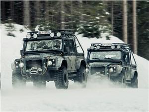Предпросмотр land rover defender 110 targa 2015 вид спереди