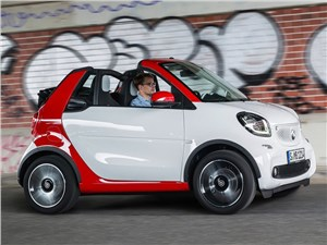 Предпросмотр smart fortwo cabrio 2016 трансформер