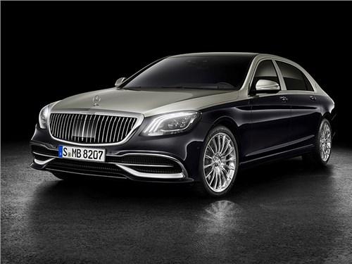 Mercedes-Maybach теперь сильнее отличается от «просто» S-класса
