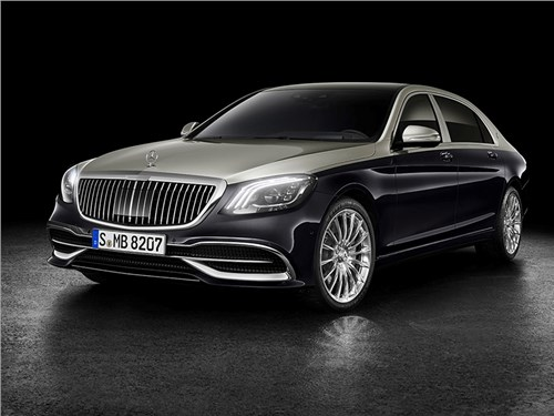 Новость про Mercedes-Benz S-Class Maybach - Mercedes-Maybach S-класса