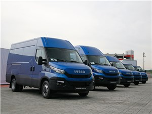 Iveco Daily - iveco daily 2015 итальянская сборная