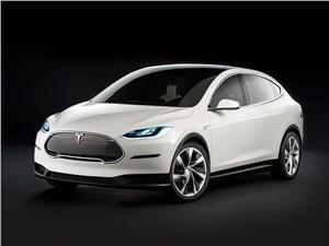 Tesla Model X 2017 X-фактор