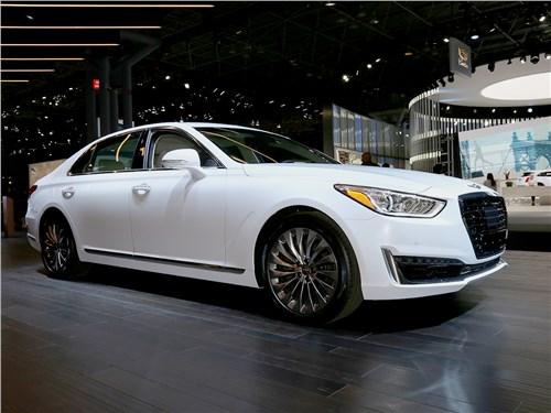 Автосалон в Нью-Йорке 2016 Hyundai Genesis G90