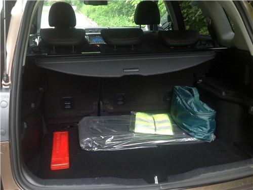 Haval H6 2015 багажное отделение
