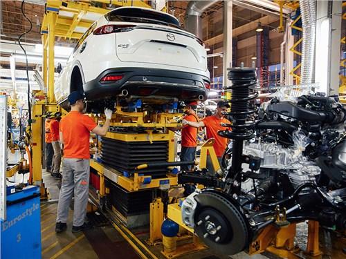 В России начали собирать большой кроссовер Mazda CX-9