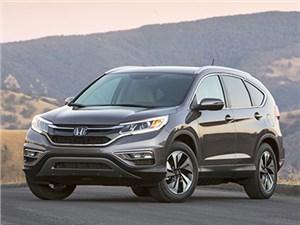 Honda CR-V снова назван самым востребованным внедорожником на мировом авторынке