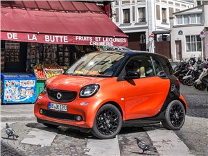Smart Fortwo Coupe - smart fortwo 2015 полет шмеля