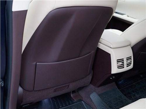Lexus ES 200 2016 тыльная часть переднего кресла