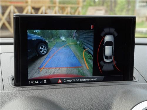 Предпросмотр audi a3 sedan 2017 монитор