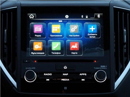 Subaru XV 2018 центральный дисплей