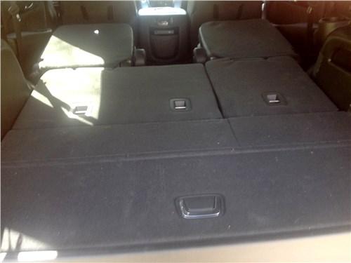 Cadillac Escalade 2015 багажное отделение